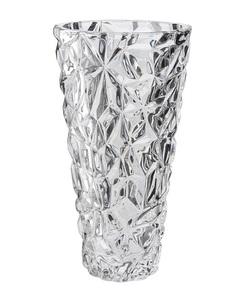 Elegant Vas Konisk Kristallglas Höjd 25,5 Cm