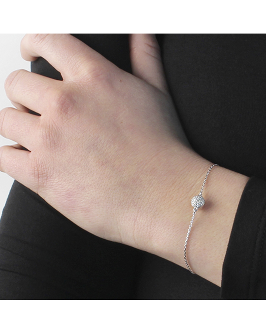 Dyrberg/Kern Penche Ss Crystal Silver