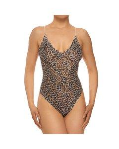 Bodysuit-classic Leopard