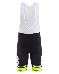 Ortler Jr Bike Short - Black/neon Yello