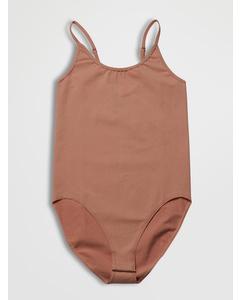 Seamless Invisible Bodysuit Tan
