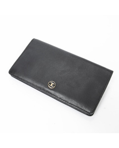 Cc Button Long Wallet