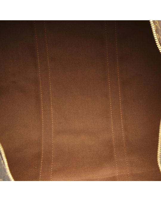 Louis Vuitton Louis Vuitton Monogram Keepall 55 Brown