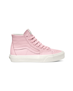 Ua Sk8-hi Tapered (soft Leather)blushing/snow White