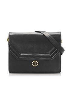 Dior Leather Shoulder Bag Black