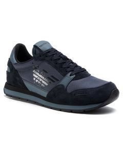 Sneakers Flats Lead Dark Slate