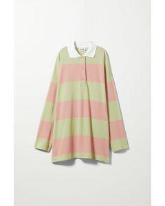 Kalani Polo Shirt Pink & Yellow