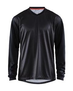 Hale Xt Ls Jersey M - Black/crest-black-l