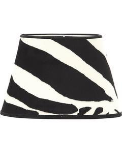Oval Mönstrad Zebra 20cm