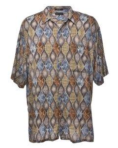 1990s Croft & Barrow Short Sleeved Shirt