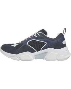 Chunky Runner Sneakers Blau