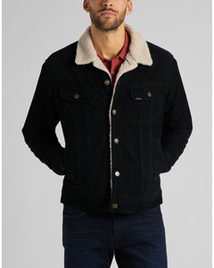 Sherpa Jacket Blk Black