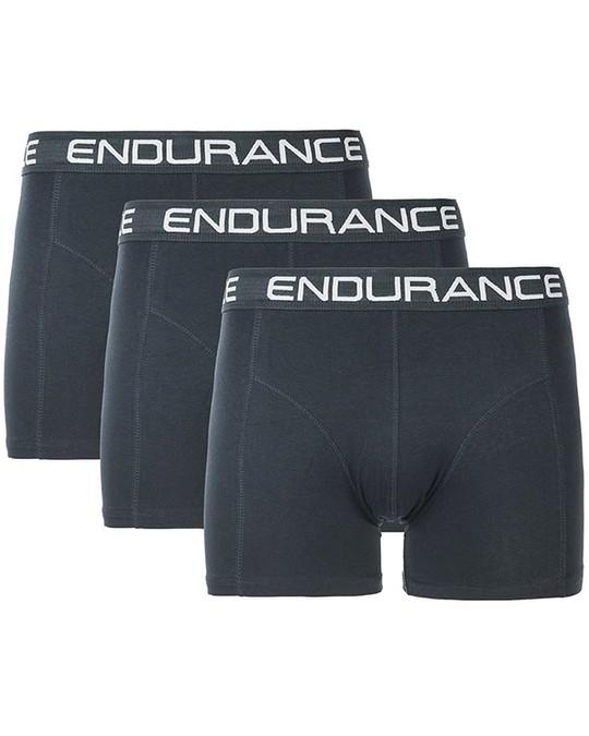 Endurance Burke M Boxer Shorts - 3 Pack Black