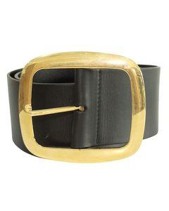 Wide Buckle All Over Large Belt
