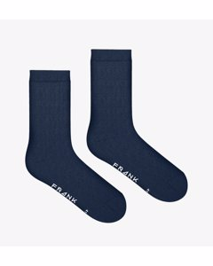 20-pack Bamboo Solid Crew Sock Dark Navy