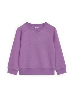 Crew-neck Sweatshirt Lilac