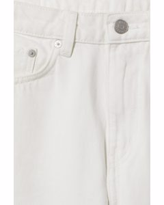 Voyage High Straight Jeans Loved White