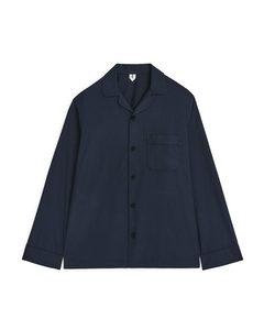 Pyjama Shirt Dark Blue