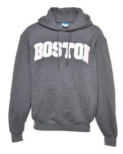 1990s Champion Boston Printed Hoodie