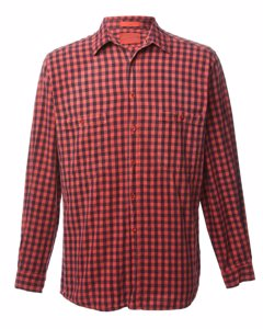1990s Levi's Checked Shirt