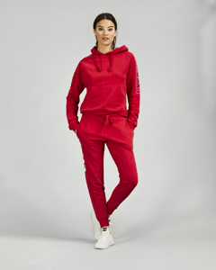 Lovisa Sweat Pants Red