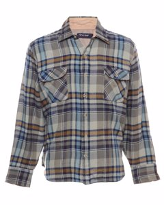 1990s Arrow Long Sleeved Checked Shirt