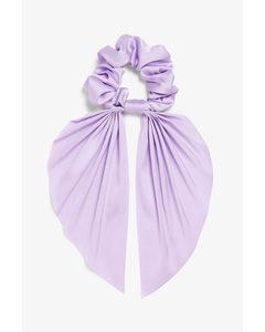 Scarf Scrunchie Purple