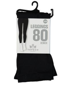 Leggings Solid 80 Denier Black
