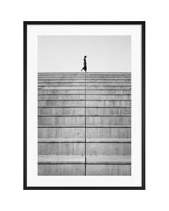 Monochrome Treppe