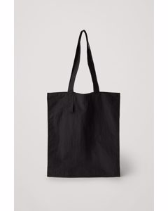 Packable Tote Bag Black