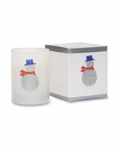 Primal Elements Icon Candle Snowy