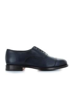 Santoni Men's Leather Lace-up Shoes