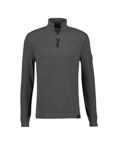 Pullover Met Opstaande Kraag