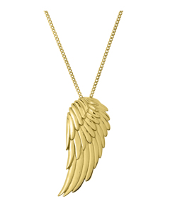 Angel Necklace Large Gold