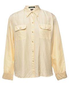 1990s Ralph Lauren Silk Shirt