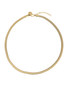 Li Flat Chain G Gold