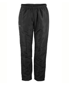 Padded Zip Pants Men Black