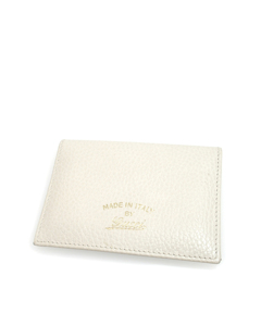 Gucci Swing Leather Passport Cover White