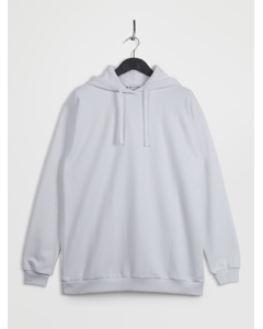 100% Recycled Oversized Hoodie White