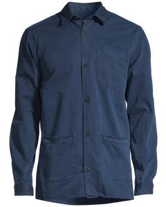 Robert Worker Shirt Dress Blue