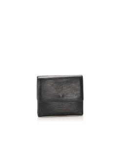 Louis Vuitton Epi Porte Monnaie Billets Tresor Wallet Black