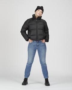 W. Volume Puffer Jacket Black
