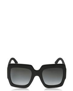 Gg0102s Black Solglasögon