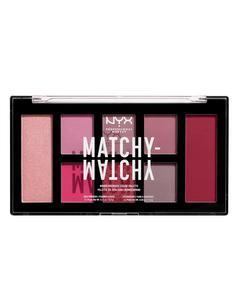 Nyx Prof. Makeup Matchy Matchy Monochromatic Color Palette - Berry Mauve