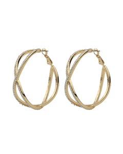Francis Big Oval Earring