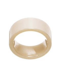 Materia Ring Ceramics White