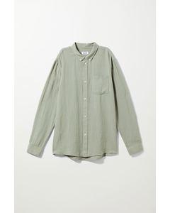 Malcon Structured Shirt Khaki Green