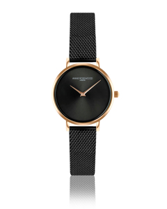 Iris Ultra Thin Black Watch
