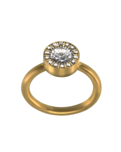 Thassos Ring Gold