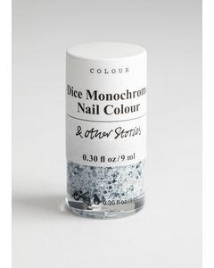 Nail Colour Fiabila Dice Monochrome